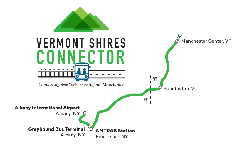 Vermont Shires Route Map