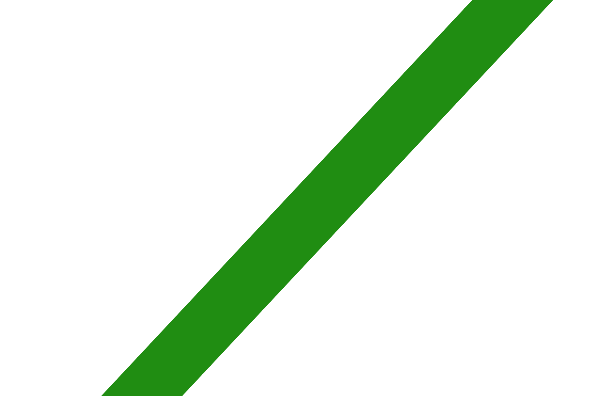 Dark Green Strip